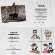 Back View : Various Artists - FCKNG SERIOUS - FIVE YEARS (TRANSPARENT VINYL / GATEFOLD COVER) - FCKNG SERIOUS / FSCO005
