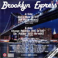 Back View : Brooklyn Express - SIXTY-NINE / CHANGE POSITION (REMIXES) - High Fashion Music / MS 490