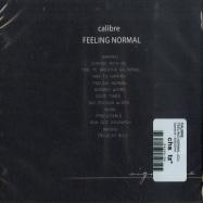 Back View : Calibre - FEELING NORMAL (CD) - Signature / SIGCD016