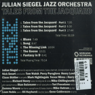 Back View : Julian Siegel Jazz Orchestra - TALES FROM THE JAQUARD (CD) - Whirlwind / WR4774CD / 05210552