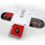 Front View : I Love Vinyl - OPEN AIR 2012 COMPILATION BOX (INCL SIZE L SHIRT) - I Love Vinyl / ILV2012-1L