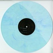 Front View : Chance McDermott - CODEX SINAITCUS (BLUE MARBLED VINYL) - Etichetta Nera Ltd / ENLTD004
