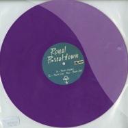 Front View : Royal Breakdown - PURPLE - REMIXES (LTD PURPLE VINYL) - RBD1