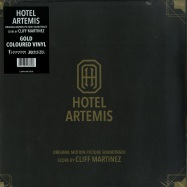 Front View : Cliff Martinez - HOTEL ARTEMIS O.S.T.  (GOLDEN 2LP) - Invada Records / LSINV210LPCOL / 39196111