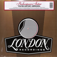 Front View : Shakespears Sister - YOURE HISTORY REMIXES (LTD RED VINYL) - London Records / LMS5521348