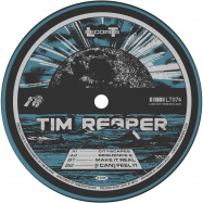 Front View : Tim Reaper - CITYSCAPES EP (BLUE VINYL) - Lobster Theremin / LT074RP