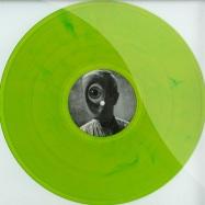 Front View : Logotech - CONTACT EP (CLEAR GREEN MARBLED VINYL) - Starkstrom Schallplatten / SST019