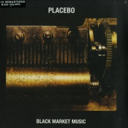 Front View : Placebo - BLACK MARKET MUSIC (BLACK 180G LP) - Elevator Lady LTD / 4743249