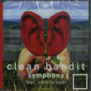 Front View : Clean Bandit feat. Zara Larsson - SYMPHONY (2-TRACK-MAXI-CD) - Warner / 7069294