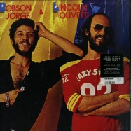 Front View : Robson Jorge & Lincoln Olvietti - ROBSON JORGE & LINCOLN OLVIETTI (LP) - Mr Bongo / mrblp148