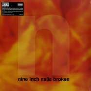 Front View : Nine Inch Nails - BROKEN (180G LP + 7INCH + MP3) - Interscope / 5714279