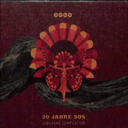 Front View : Various Artists - 20 JAHRE SOS - JUBILAEUMS COMPILATION (CD) - 3000 Grad / 3000 CD 14