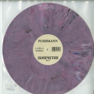 Front View : Pushmann - INTERFERENCE / MAGNITUDE (COLOURED VINYL) - Suspected / SUSLTD017