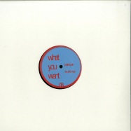 Front View : Justin Pak - REUNION EP - What You Want / WOW008
