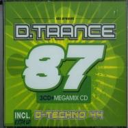 Front View : Various Artists - D.TRANCE VOL. 87 (+D.TECHNO 44)(3XCD) - Djs Present / 59700872