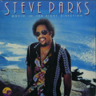 Front View : Steve Parks - MOVIN IN THE RIGHT DIRECTION (180G LP) - Luv N Haight / LHLP088