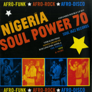 Front View : Various Artists - NIGERIA SOUL POWER 70 (2LP) - Soul Jazz / SJRLP446 / 05182001