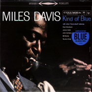 Front View : Miles Davis - KIND OF BLUE (BLUE COLOURED LP) - Col / 19075883491