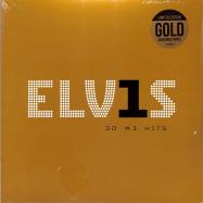Front View : Elvis Presley - ELVIS 30 #1 HITS (LTD GOLD 2LP) - Sony Music / 19075883481