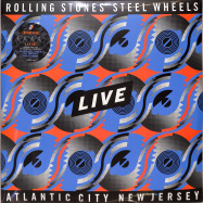 Front View : The Rolling Stones - STEEL WHEELS LIVE (ATLANTIC CITY 1989.3LP+12Inch) - Eagle Rock / 0874194