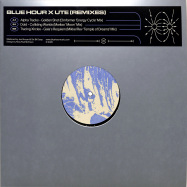 Front View : Blue Hour - BLUE HOUR X UTE (REMIXES) - Blue Hour / BLUEHOURMXSPL002