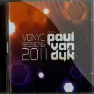 Front View : Paul Van Dyk - VONYC SESSIONS 2011 (2XCD) - Vandit Records / van2040