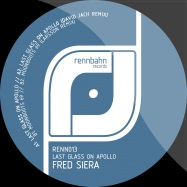 Front View : Fred Siera - LAST GLASS ON APOLLO - Rennbahn Records / Renn013