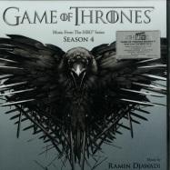 Front View : Ramin Djawadi - GAME OF THRONES SEASON 4 O.S.T. (LTD CLEAR 2X12 LP) - Music On Vinyl / MOVLP1204