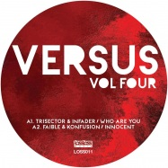 Front View : Various Artists - VERSUS VOLUME FOUR (PINK & BLACK MARBLED VINYL) - Lossless / LOSS011