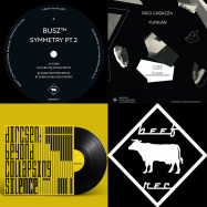 Front View : Various Artists - BEEF RECORDS COMPILATION 2018 (3X12 INCH) - Beef Records / BEEFCOMP1