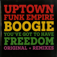 Front View : Uptown Funk Empire - BOOGIE / YOUVE GOT TO HAVE FREEDOM - Groovin / GR-1256