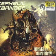 Front View : Cephalic Carnage - MISLED BY CERTAINTY (2X12 COLOURED VINYL) - Relapse / rr70551