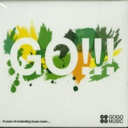 Front View : Various Artists mixed by Ralf Gum & Sir LSG - GO!!! 15 YEARS OF ENCHANTING HOUSE MUSIC (2XCD) - Gogo Music / BK001