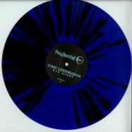 Front View : Cari Lekebusch - EYE SIGHT (BLUE / BLACK SPLATTER / VINYL ONLY) - H-Productions / HYB031