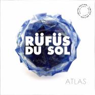 Front View : Rufus Du Sol - ATLAS (2LP, WHITE VINYL REPRESS) - Sweat It Out / SWEATSV014