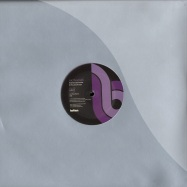 Front View : Nic Fanciulli - CALLER ID (Pink marbled Vinyl) - Bitten / bitt005