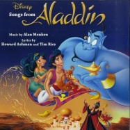Front View : Various Artists - SONGS FROM ALADDIN O.S.T. (LP) - Walt Disney / 8740325