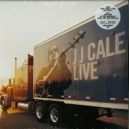 Front View : JJ Cale - LIVE (2LP, 180 G VINYL+CD) - Because Music / BEC5543437