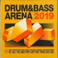 Front View : Various Artist - DRUM & BASS ARENA (3XCD) - AEI Music  / DNBA034CD