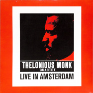 Front View : Thelonious Monk Quartet - LIVE IN AMSTERDAM (LP) - Naked Lunch / ND009 / 00139318