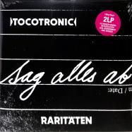 Front View : Tocotronic - SAG ALLES AB - RARITÄTEN 1994-2020 (2LP) - Vertigo Berlin / 0719346