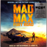 Front View : Tom Holkenborg aka Junkie XL. - MAD MAX: FURY ROAD (LTD FLAMING 180G 2LP) - Music On Vinyl / MOVATM045