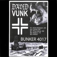Front View : David Vunk - BUNKER 4017 - Bunker / B4017
