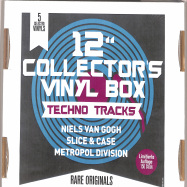 Front View : Various Artists - 12Inch COLLECTOR S VINYL BOX: TECHNO TRACKS (5LP BOX) - Zyx Music / MAXIBOX LP25