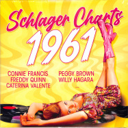 Front View : Various - SCHLAGER CHARTS: 1961 (LP) - Zyx Music / ZYX 55925-1