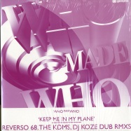 Front View : Who Made Who - Keep Me In My Plane Part 2 (DJ KOZE REMIX) - Gomma / Gomma130