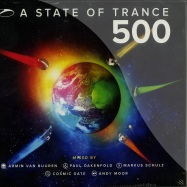 Front View : Various Artists - A STATE OF TRANCE 500 (5XCD) - Armada / arma288