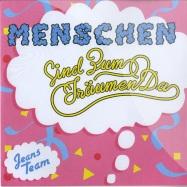 Front View : Jeans Team - MENSCHEN (SIND ZUM TRAEUMEN DA) (7 INCH) - Staatsakt / aktsie036