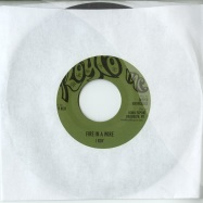 Front View : I Roy - FIRE IN A WIRE (7 INCH) - Deeper Knowledga / dkr111