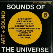 Front View : Various Artists - SOUNDS OF THE UNIVERSE: ART + SOUND PT. 2 (2X12 LP) - Soul Jazz Records / sjrlp307b / 05113301